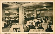 A View Of The Coffee Shop, Richmond-Leland Hotel, Richmond, IN Indiana