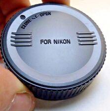 Sigma Posterior Tapa Objetivo Para Nikon Af G D AF-S Lentes