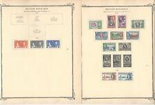 British Honduras 1865-1953 on 11 Scott Specialty Pages
