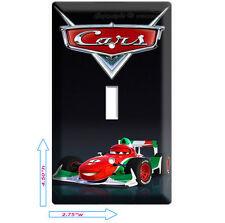 New Cars 2 Francesco Formula 1 Racing Single Light Switch Room Wall Plate Cover