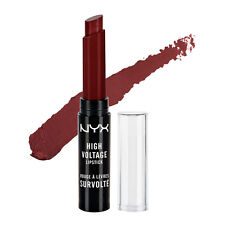 NYX High Voltage Lipstick HVLS16 Feline ( Red plum ) Full Size Sealed