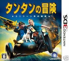 Used 3DS The Adventures of Tintin   NINTENDO 3DS JAPANESE  IMPORT