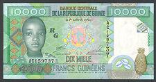 GUINEA - 10000 FRANCS 2007 - Banknote Note - P 42a P42a (UNC)