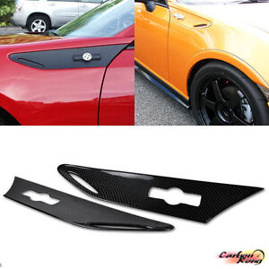 2016 Fit For Toyota GT86 SCION FR-S SIDE GRILL VENTS Trim DRY CARBON