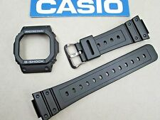 Genuine Casio G-Shock G-5600E GWM-5600 GWM-5610 watch band & bezel set black