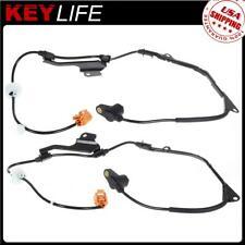 2pcs Front Left+Right ABS Wheel Speed Sensor For Honda Accord ALS804 57450S0KA52