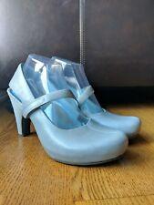 TSUBO Womens Acrea Mary Jane Slingback Gray Platform Pumps Heels Size 9
