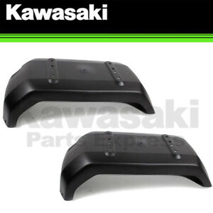NEW 2001 - 2008 GENUINE KAWASAKI MULE 3000 3010 3020 REAR FENDER PAIR 35023-1557
