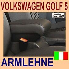 VOLKSWAGEN GOLF 5 - Mittelarmlehne mit Ablagefach für - armrest -Made in Italy-@