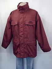 CAMEL TROPHY Designer Jacke Übergangsjacke Gr.XL 52/54 Jacket Kapuze Weinrot