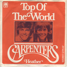 """7"" - CARPENTERS - Top of the world"