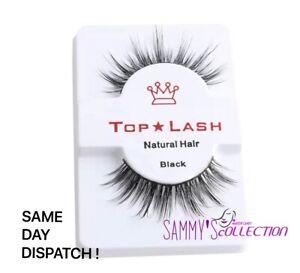 TOP LASH 3D 100% Luxurious Mink Natural Long Volume Eyelashes False Lashes UK❤️