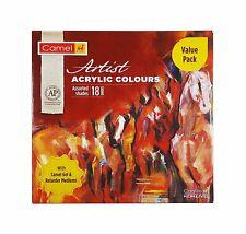 Kokuyo Camlin Artist Acrylic Colors - 18 Shades, 20ml Each Free Shipping