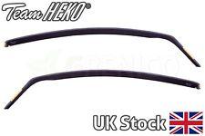Vauxhall Corsa mk4 D 3door hatchback 06-14 2pc wind deflectors 2pc HEKO TINTED