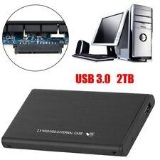 "External 2TB Hard Disk Storage Drives 2.5"" USB 3.0 High Speed Ultra Slim fit PC"