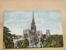 Early Sussex postcard - Chichester cathedral
