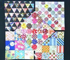 DELUXE Foil ✨ Set G Japanese Yuzen Origami Paper Sakura Cherry Blossom Patchwork