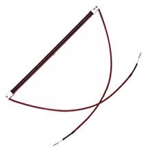 """348 mm 13 ¾"""" Inch 1400 Watt 1.4 kW Ruby R7 Halogen Infra-red Heater Lamp Bulb"""