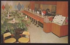 Postcard YONKERS New York/NY St John's Hospital Andrus Pavilion Coffee Shop 50's