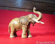 Schleich Elefante giocattolo di plastica solida Figura Wild Zoo Animale Africano tronco fino