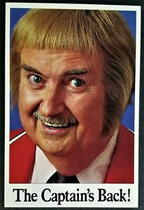 Famous People, Children's TV: Captain Kangaroo, Bob Keeshan. Signed in Plate.