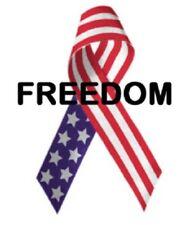 Address Labels - Patriotic - Freedom Ribbon 01