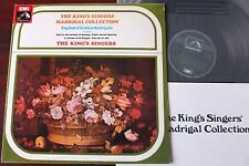 THE KING'S SINGERS MADRIGAL COLLECTION LP HMV CSD 3756 EX++ GT BRITAIN