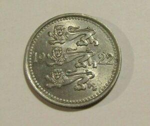 Estonia 1922 5 Marka Au Coin