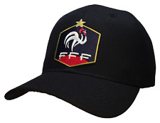 World Cup French Federation Football Baseball Cap Black Hat France FFF