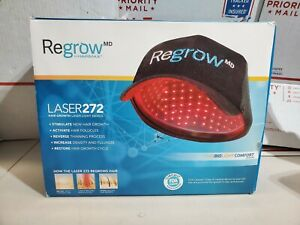 Genuine Regrow MD by HairMax Laser 272 Laser Cap. Stimulate Hair NEW IN OPEN BOX