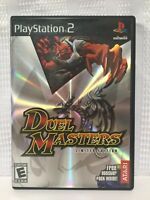 Duel Masters Sony PlayStation 2 PS2. Atari 2004 Limited Edition Cover Complete