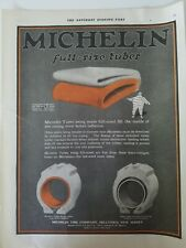 1919 Michelin Tire Company full size tubes vintage original ad AS IS