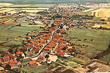 21196 AK Rehberg Luftbild Hauptstraße Felder Ziegeldächer Wiesen Wälder um 1980