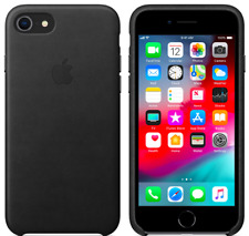 Apple iPhone 8/7 4,7″ Genuine Original Leather Protective Case Cover Black