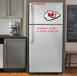 Kansas City Chiefs 3D NFL Foam Magnet Logo Emblem