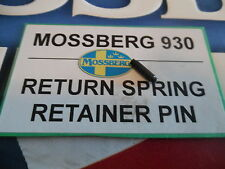 Mossberg 930 Autoloader Factory New Return Spring Retainer Pin Ships Free
