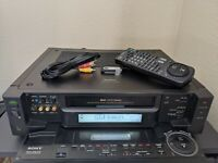 REFURBISHED! Sony SLV-R1000 Super S-VHS SVHS Player Recorder HiFi Stereo NTSC