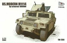 T-Modèle 1/72 M1114 HMMWV Up-Armoured