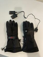ActionHeat 5V Rechargeable Battery Heated Gloves for Men, Waterproof Insulated