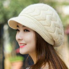 Women's Winter Warm Knitting Beanie Hat Slouch Baggy Crochet Ski Visor Beret Cap