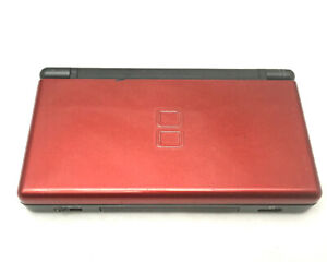 Nintendo DS Lite Console - Pick Your Color - Tested & Working Blue Red Black