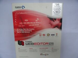 SJ Namo Interactive WebEditor 2006 suite NEW SEALED BIG BOX