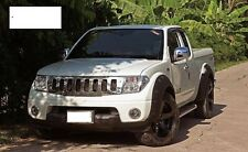Nissan Navara D40 King Cab Large Roue Arches Fender Flares Extension.