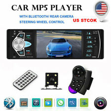 1DIN Car Stereo Radio MP5 Player 1080P 4.1