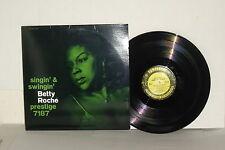 BETTY ROCHE Singin' And Swingin' LP Vinyl Stereo Jack McDuff & Jimmy Forrest