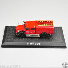 Atlas 1/72 Scale Scale Steyr 380 Vehicle Fire Truck Model Alloy Diecast Car Toys