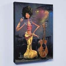 """Snow White"" L/E Giclee on Canvas David Garibaldi CC Numbered Signed Wrapped COA"