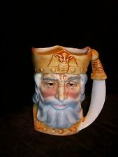 SMR JAPAN VIKING KING SIMITAR SWORD KNIFE TOBY MUG VINTAGE ART POTTERY
