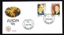 Malta 1996 Europa First Day Cover FDC SG 1016 - 1017 Not Addressed
