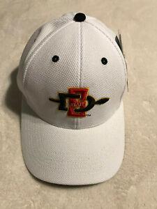 San Diego State University Aztecs Embroidered Hat Cap Flex Fit L/XL SDSU NEW